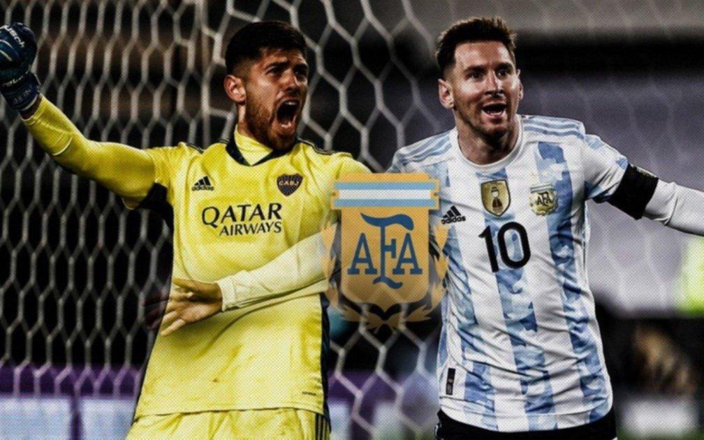 El regalo de Messi que conmovió al arquero de Boca