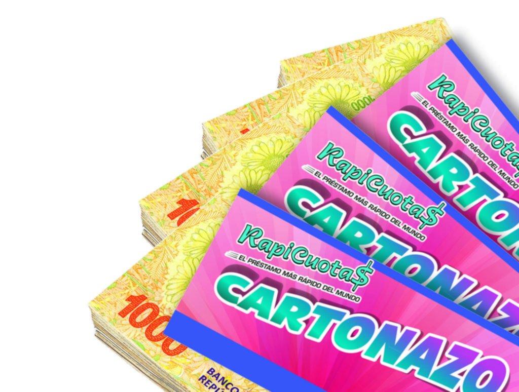 El Cartonazo quedó vacante y crece la expectativa: ahora se juega por 100.000 pesos