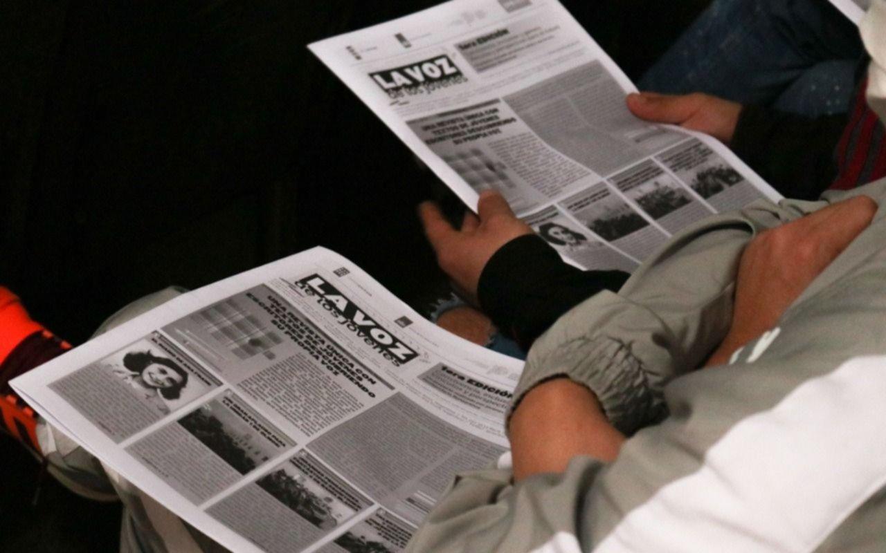 Privados de la libertad de Olmos hicieron las veces de periodistas