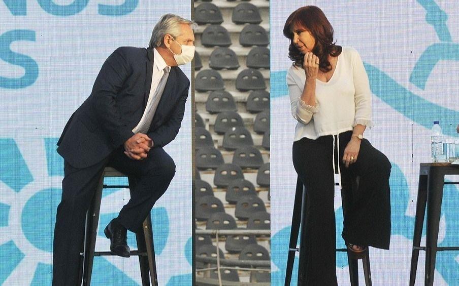 """Mensaje de Alberto a Cristina: """"La gestión seguirá como yo estime conveniente, para eso fui elegido"""""""