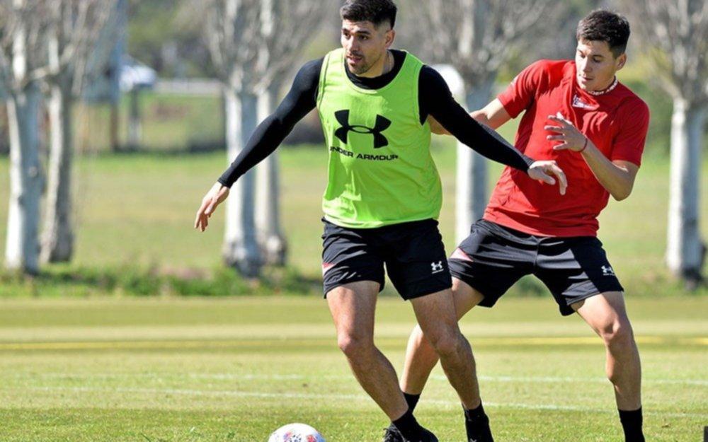 Informe Pincha: el equipo entrena en Santa Fe y Del Prete es duda para el domingo