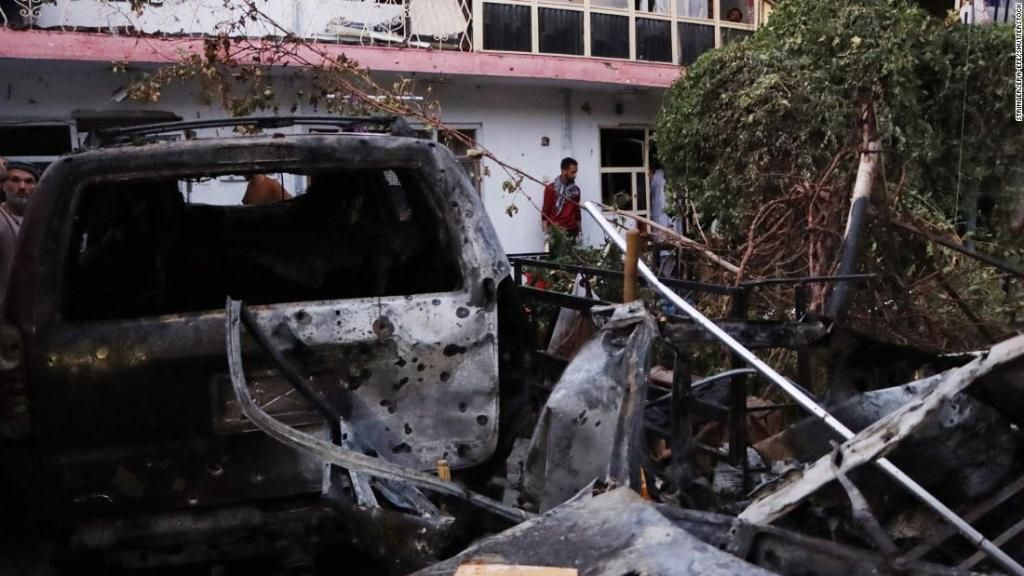 Fatal error de EE UU Mató a 10 inocentes en Kabul