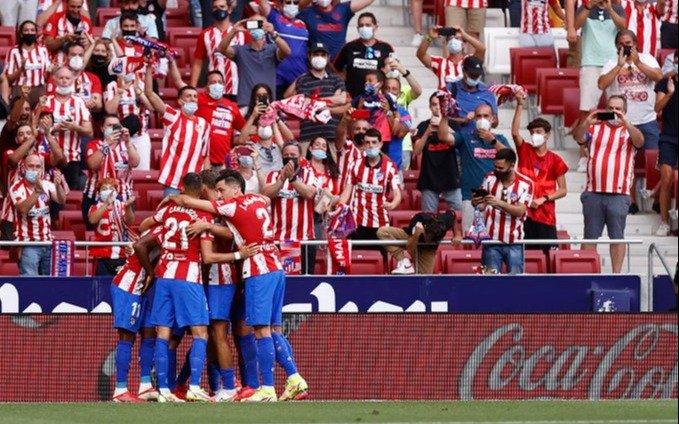 Atlético de Madrid, con Ángel Correa y De Paul, igualó con Athletic Bilbao y es líder