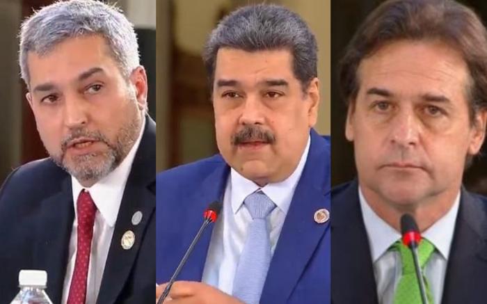 Cumbre de Celac: el fuerte cruce entre Maduro y los presidentes de Paraguay y Uruguay