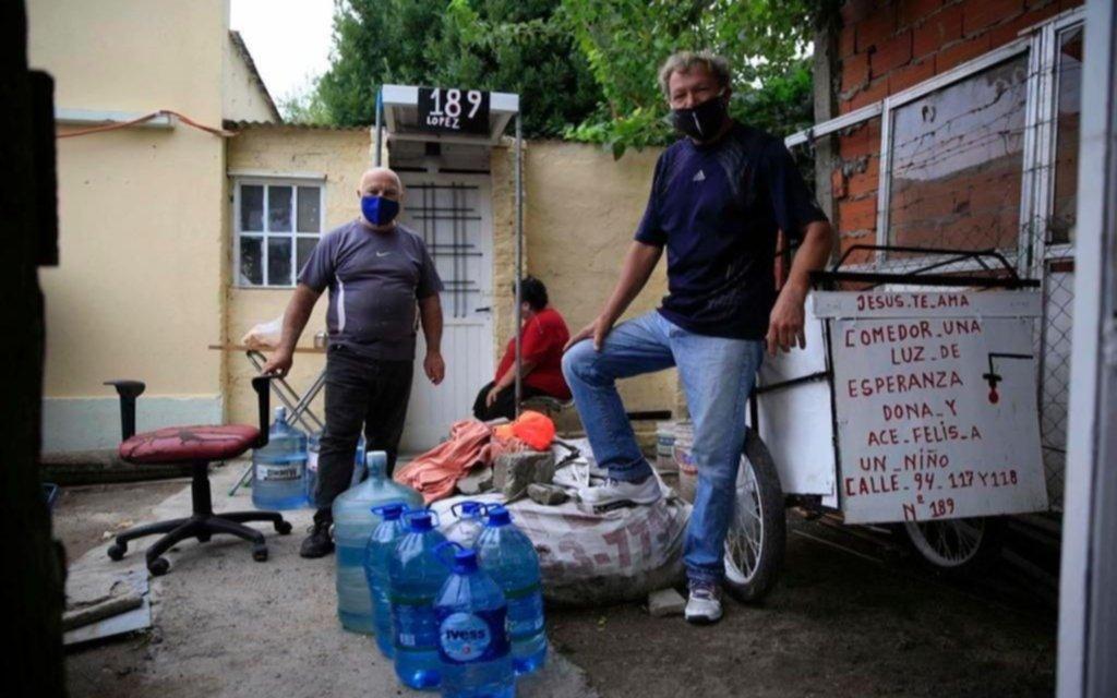 Un comedor que lleva 9 meses sin entregar viandas por falta de agua, renovó un pedido de reparación a ABSA