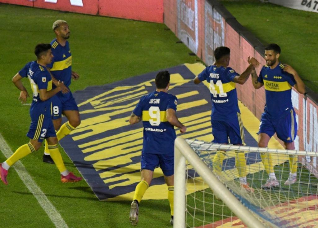 Boca sacó pecho en Tucumán, y ganó, con un equipo alternativo