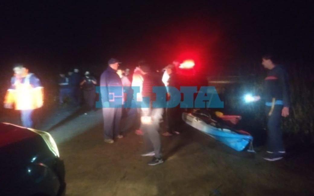 Noche de tensión en La Balandra: rescatan a pescadores platenses varados a 1500 metros de la costa