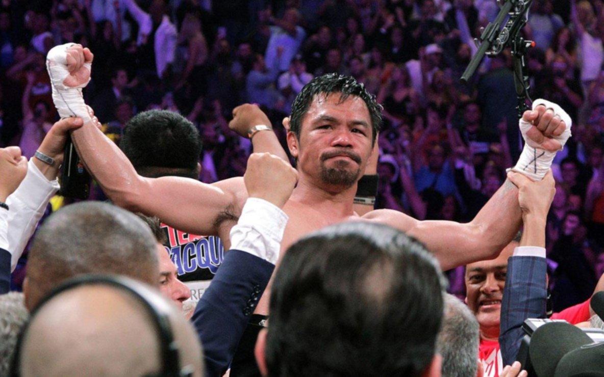 Va por todo: Manny Pacquiao será candidato a presidente de Filipinas en 2022
