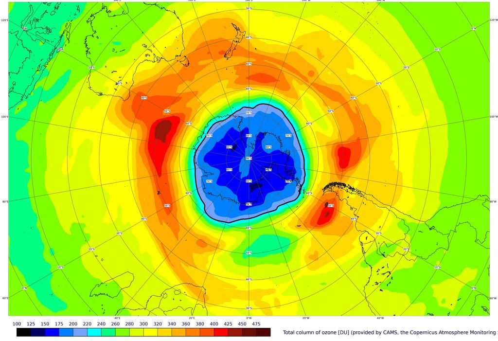 Agujero de Ozono: ya es más extenso que la Antártida