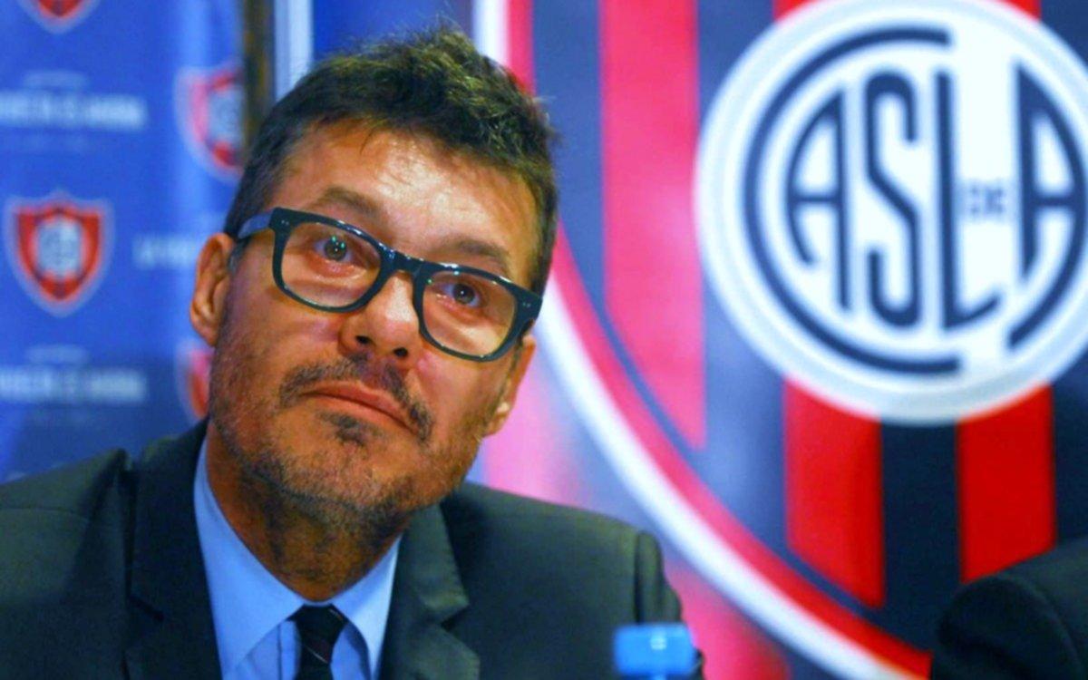 Tinelli ya le puso fecha a su retorno a la presidencia de San Lorenzo