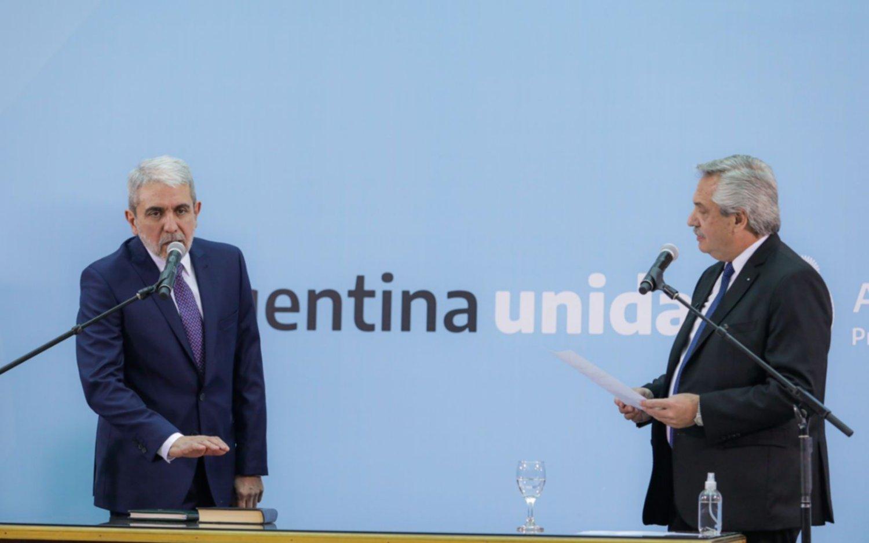 Aníbal Fernández confirmó su decisión de no modificar las cúpulas de las cuatro fuerzas federales