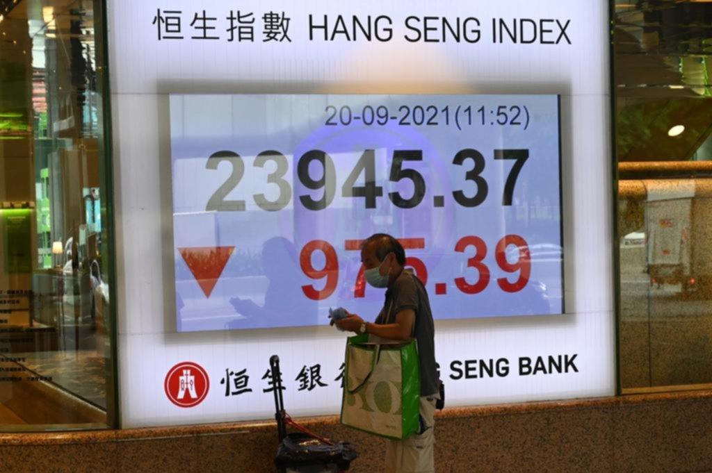Temblor en los mercados: por crisis de un gigante inmobiliario chino