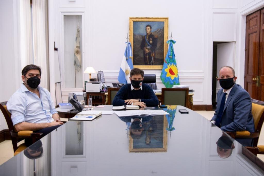 Con un acto en La Plata, Kicillof toma juramento a los nuevos ministros