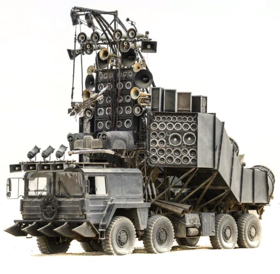 """Vehículos de """"Mad Max"""": quién da más..."""