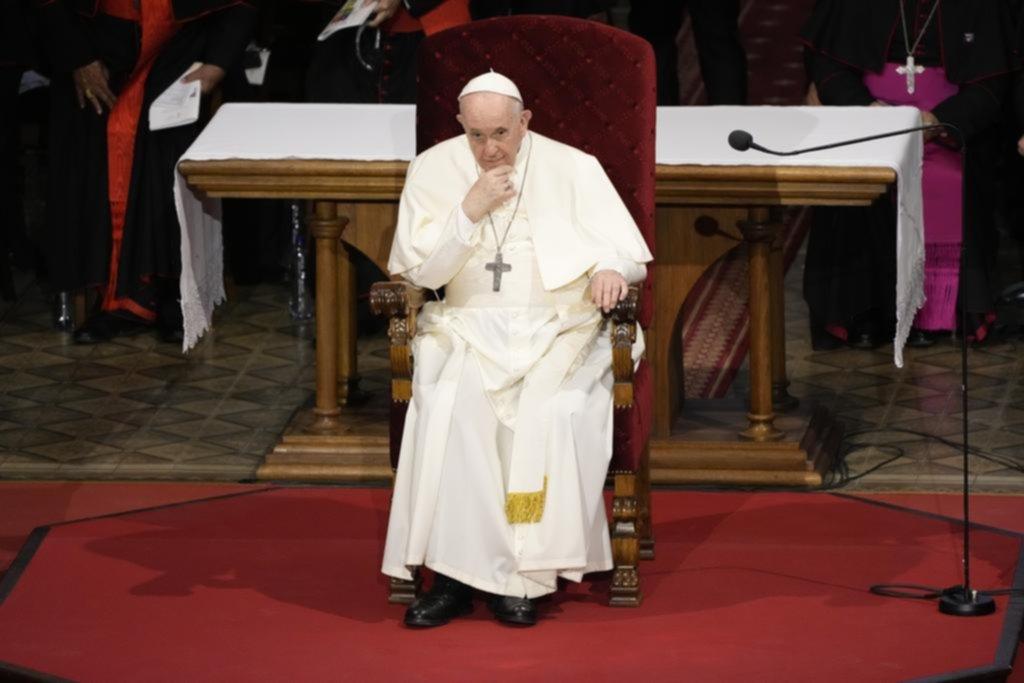 """""""Estoy vivo, aunque algunos me querían muerto"""", dijo el Papa"""