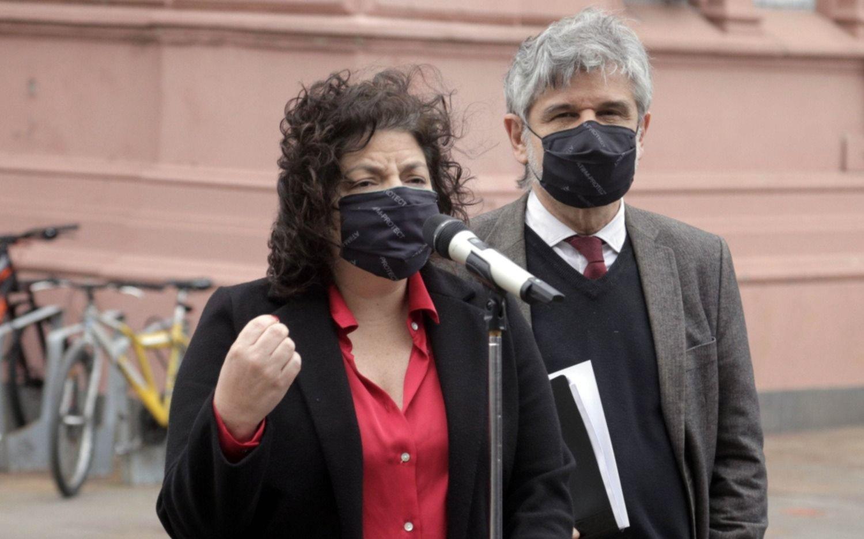"""Vizzotti defendió las medidas y dijo que están respaldadas por la """"situación epidemiológica"""""""