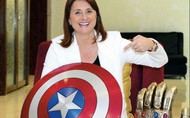 Histórico: la platense Victoria Alonso se convirtió en presidenta de producción de Marvel Studios