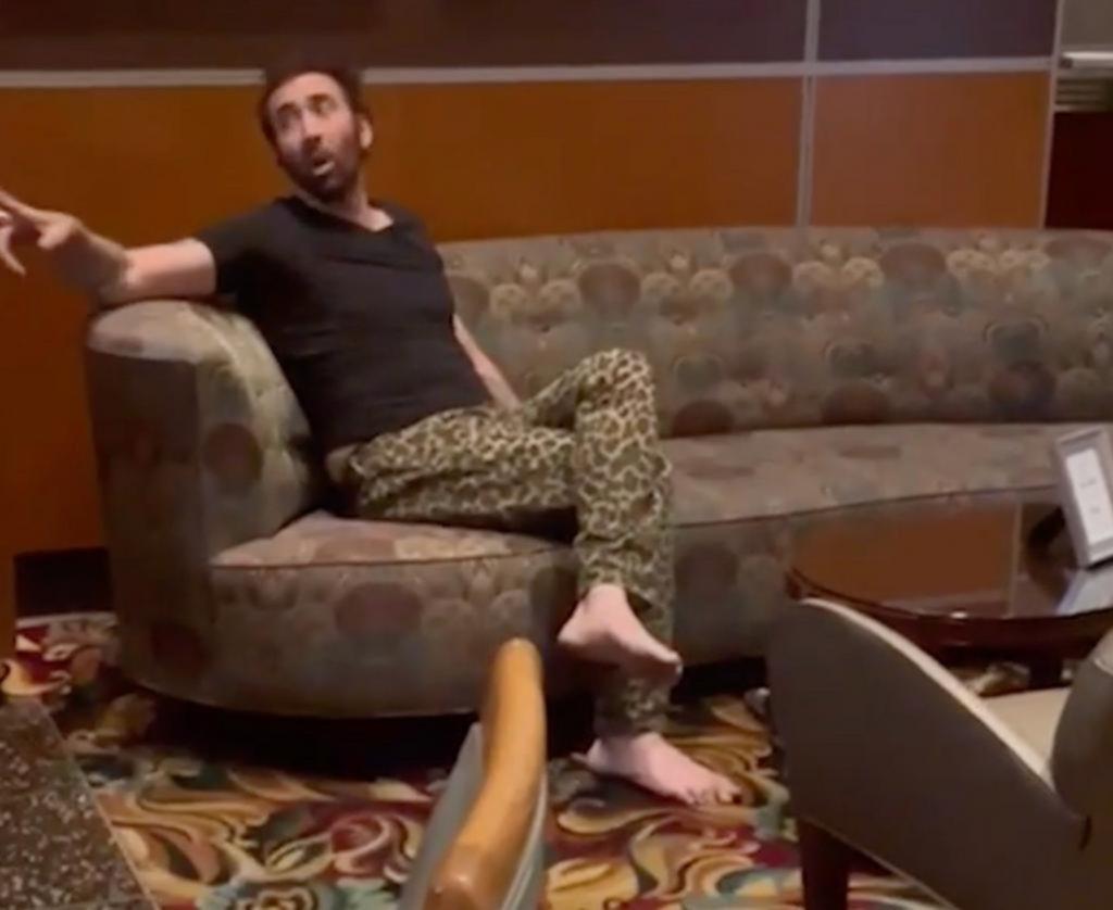 Nicolas Cage se peleó con todos, lo confundieron con un homeless y lo echaron de un restorán