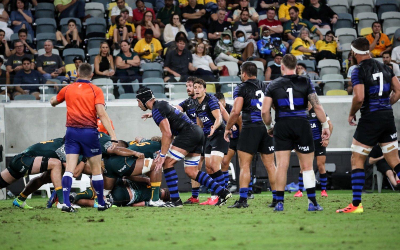 Los Pumas perdieron frente a los Wallabies en la penúltima fecha del Rugby Championship