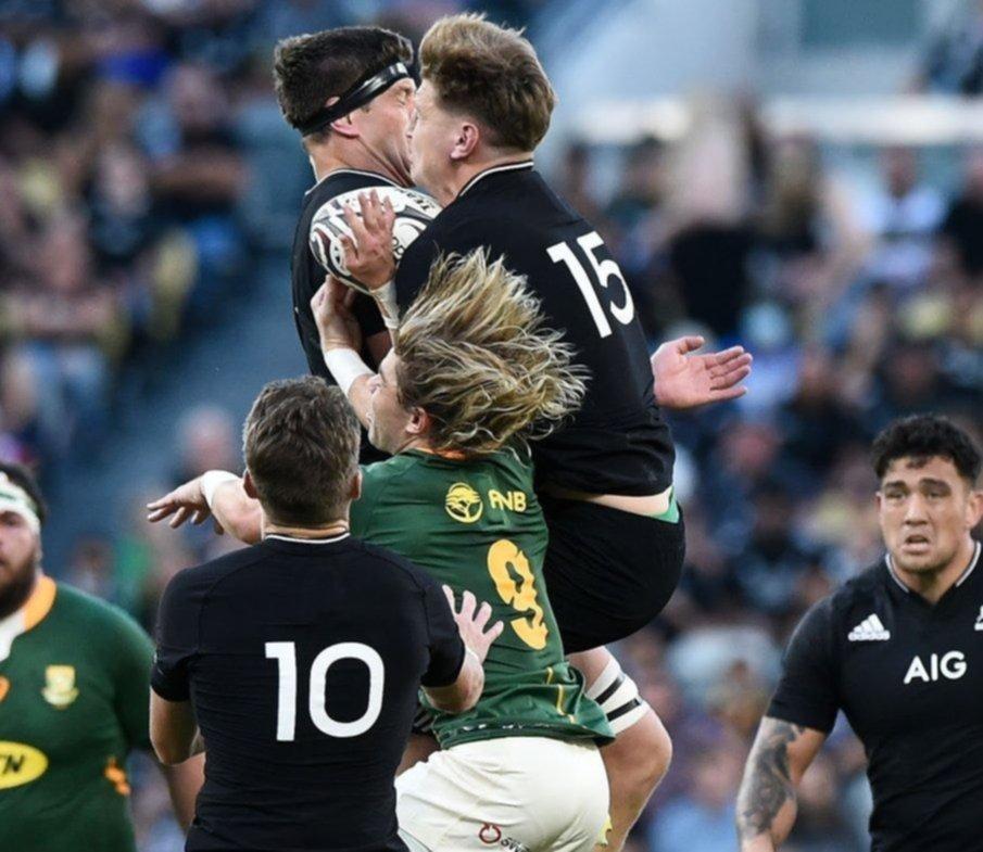 Nueva Zelanda venció a Sudáfrica por 19-17 y es campeón del Rugby Championship 2021