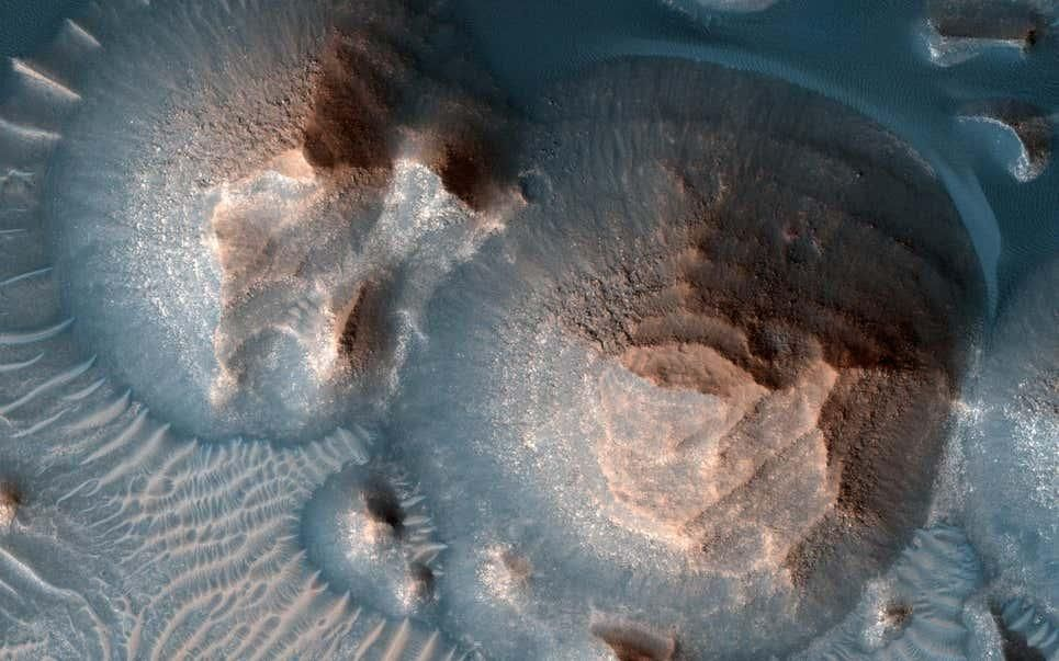 Lo confirmó la NASA: Marte sufrió 500 millones de años de súper erupciones volcánicas