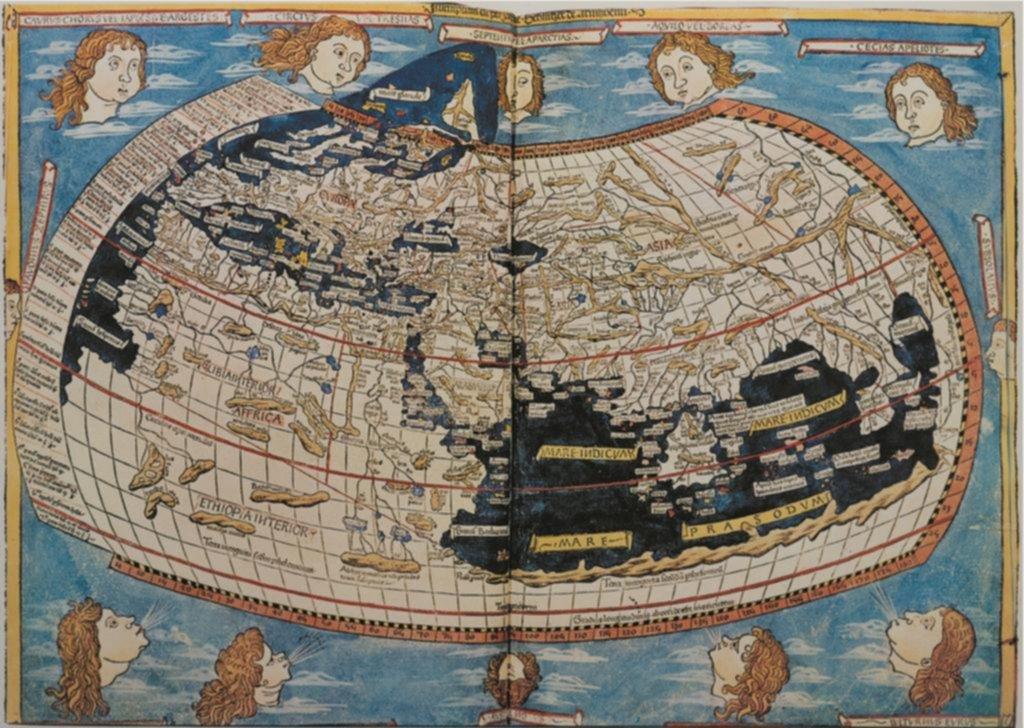 Curiosidades detrás de los primeros mapas
