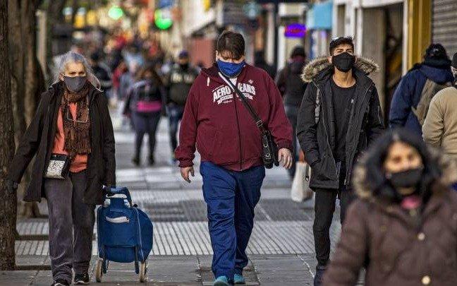 Argentina informó 84 muertos y 1.825 nuevos casos por coronavirus en las últimas 24 horas