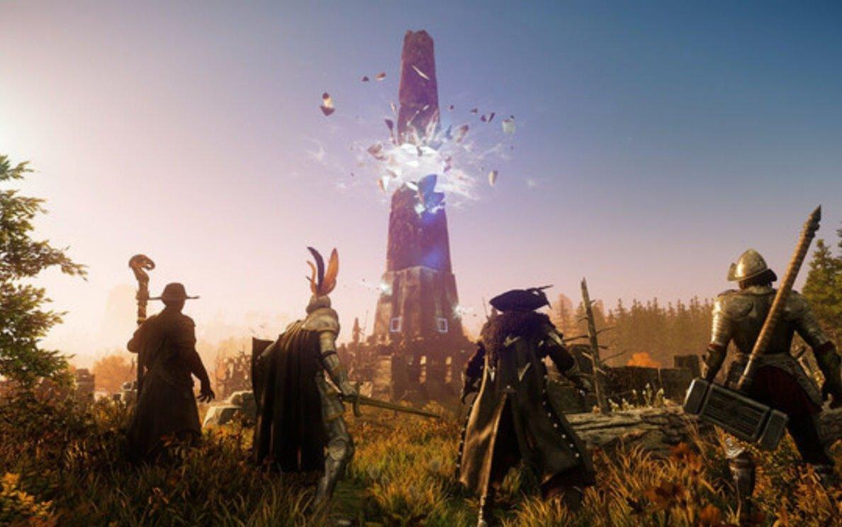 Amazon Games lanzó New World, el juego que ya tuvo más de medio millón de jugadores en línea