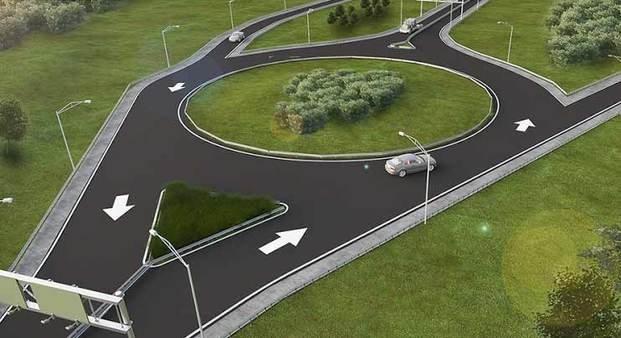 Autopista: comenzaron trabajos para nuevos accesos en Villa Elisa