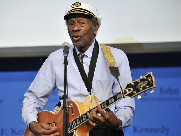 Noventa años no es nada: Chuck Berry ya graba su nuevo álbum