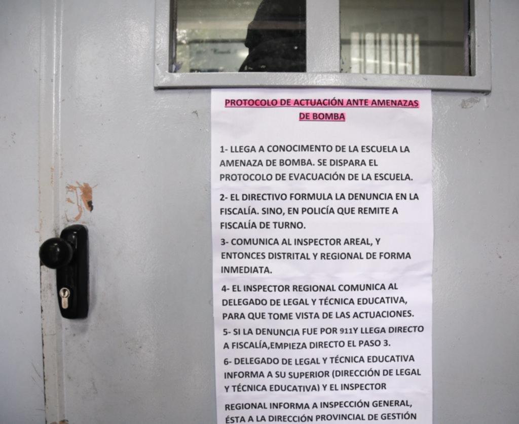 Por amenazas sin respiro, hay otros cinco alumnos detenidos