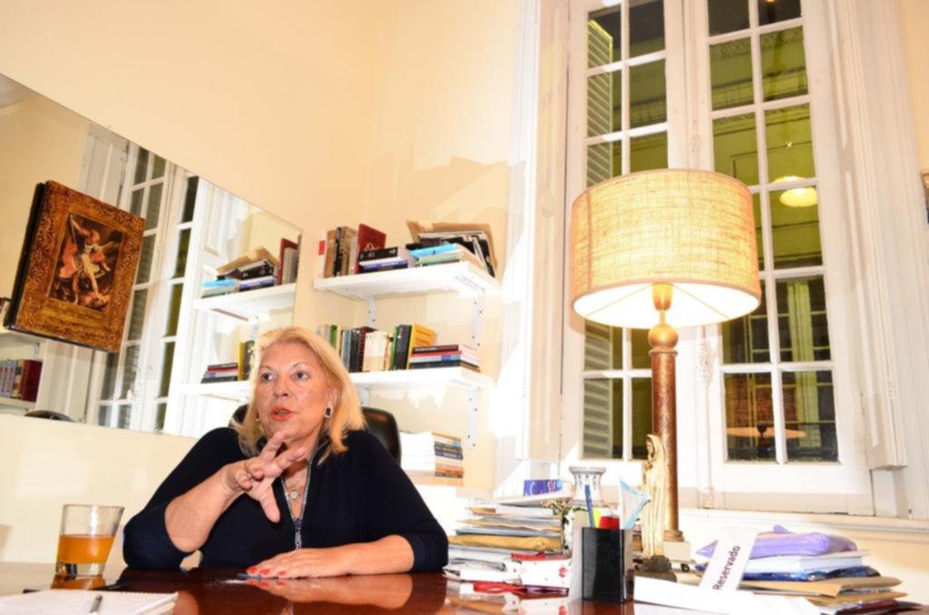 Elisa Carrió va a los tribunales con otra denuncia contra Cristina