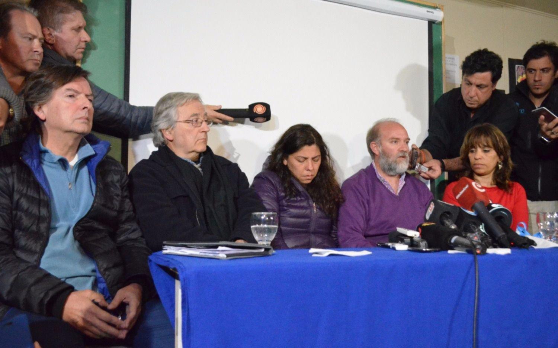 La familia de Santiago Maldonado: \