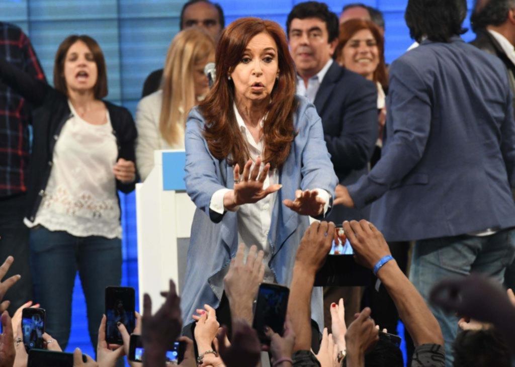 """""""Cristina senadora"""", fue el festejo en el kirchnerismo"""