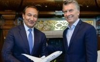 Macri recibió en la Casa Rosada al CEO de United Airlines