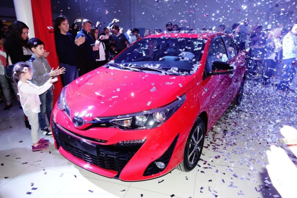 Toyota actualizó su compacto Yaris