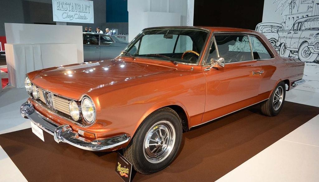 El Torino de 1972 que se exhibe en el Salón de París