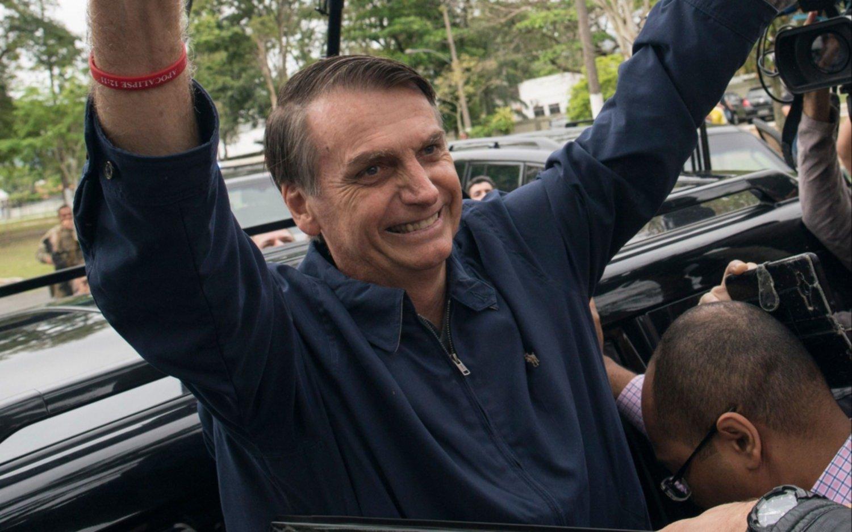 """Bolsonaro se declaró """"admirador"""" de Trump y su política migratoria"""