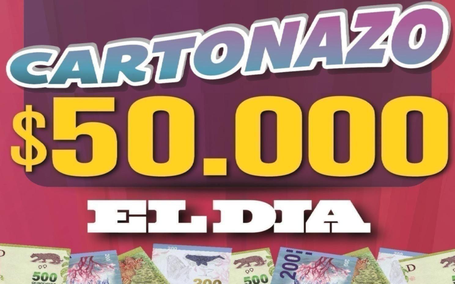 Ya podés conseguir la nueva tarjeta del Cartonazo ¡con un pozo de $50.000!
