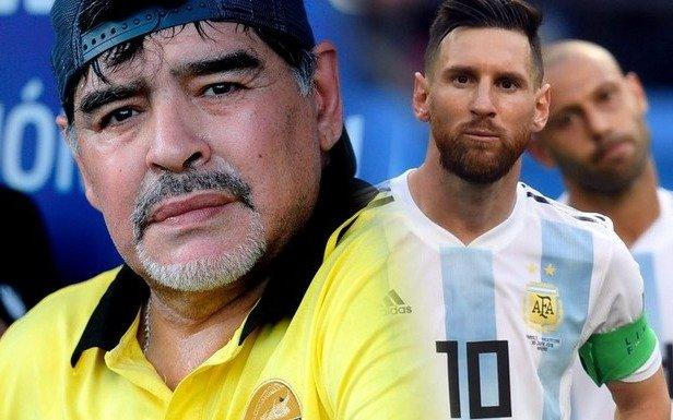 "Diego: ""No endiosemos a Messi ni pretendamos que sea un caudillo"""