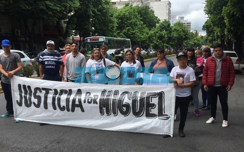 Marcharon para pedir justicia por Miguel Heredia