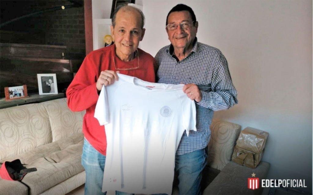 Conigliaro visitó a Sabella y vieron juntos el triunfo de Estudiantes ante Banfield