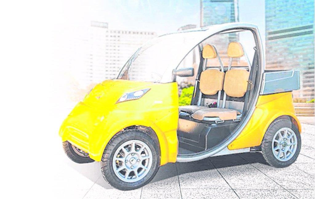 Llega el primer auto eléctrico argentino