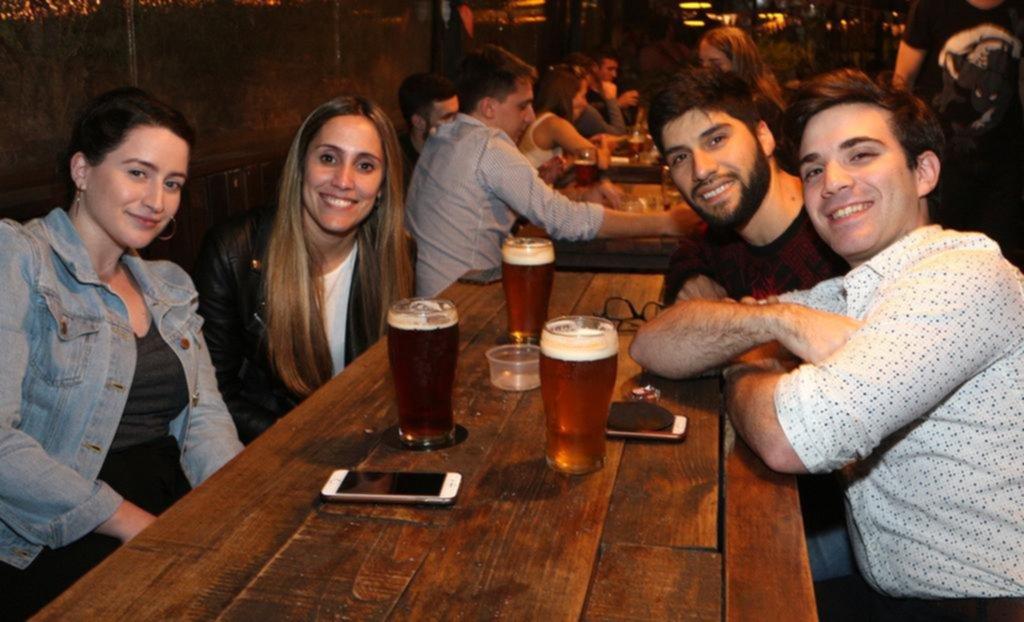 De recorrida por bares y restaurantes de la Ciudad