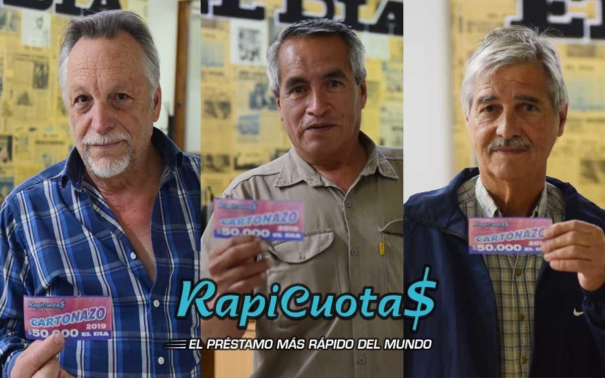 Tres ganadores se quedaron con el Cartonazo de 300 mil pesos