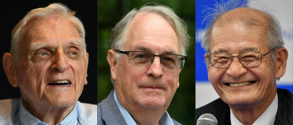 Los creadores de la batería de litio ganaron el Nobel de Química