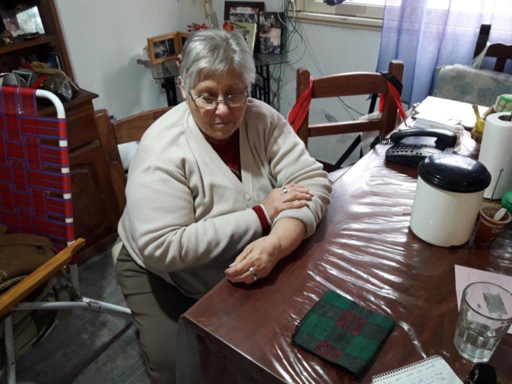 Una jubilada se despertó de la siesta con una ladrona en su casa y la enfrentó para que se fuera
