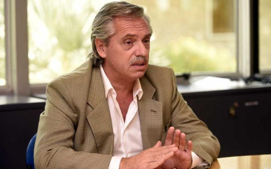 """Vivimos en un país que está virtualmente defaulteado"", dijo Alberto Fernández"