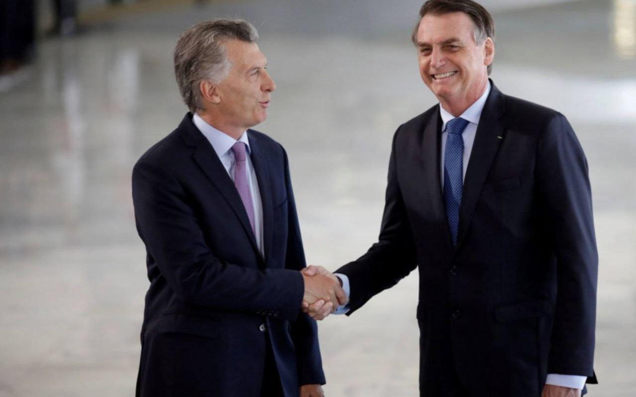 """Bolsonaro, sobre Argentina: """"Hemos trabajado para que no vuelva"""" el pasado"""