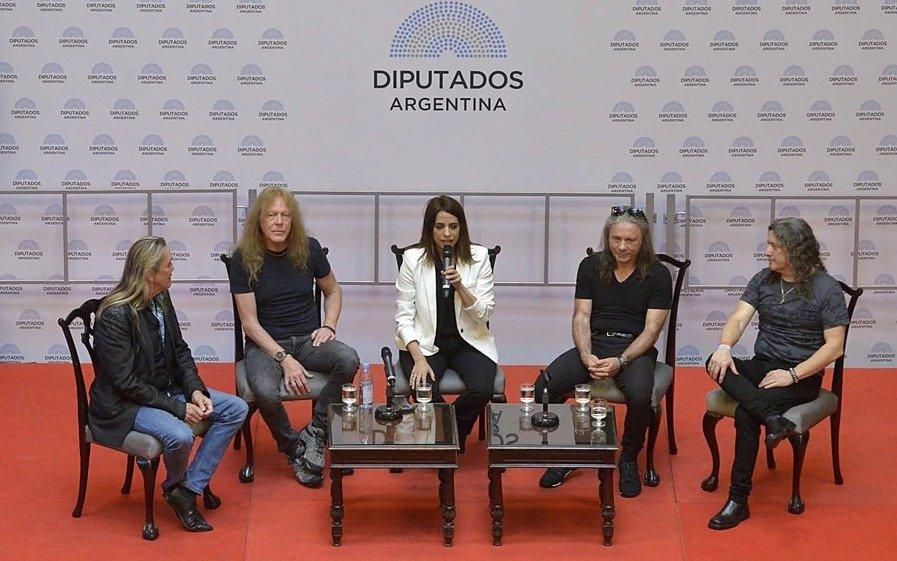 Iron Maiden, declarada Huésped de Honor por Congreso argentino